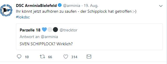 tweet arminia